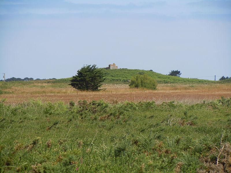 Photo du Monument Historique Champ de tumuli, dit Tumuli de la Lande du Semis situé à Sauzon