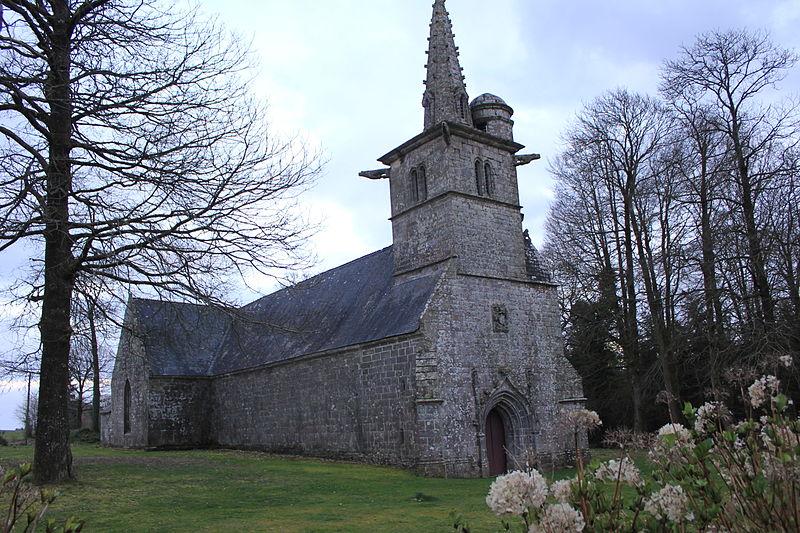 Photo du Monument Historique Chapelle de Locmaria situé à Séglien
