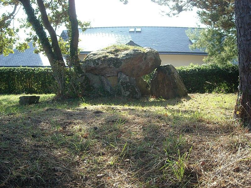 Photo du Monument Historique Dolmen de Gornevèse situé à Séné