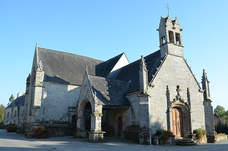 Photo du Monument Historique Eglise Saint-Jean-Baptiste de Gorvello situé à Sulniac