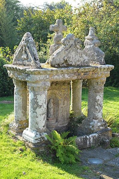 Photo du Monument Historique Fontaine de Gorvello situé à Sulniac