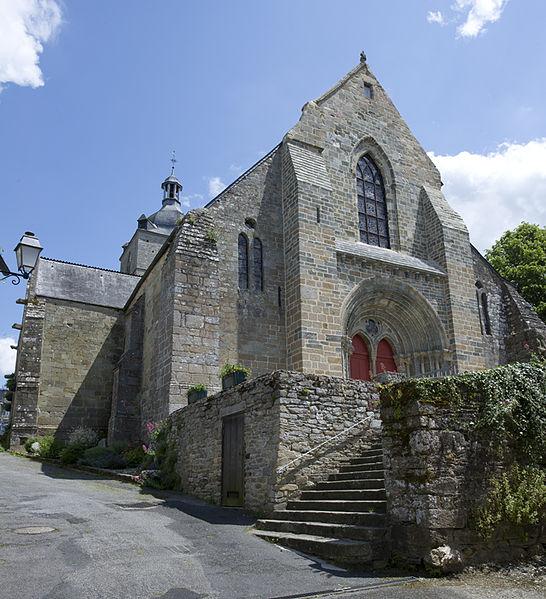 Photo du Monument Historique Eglise de la Trinité situé à La Trinité-Porhoët