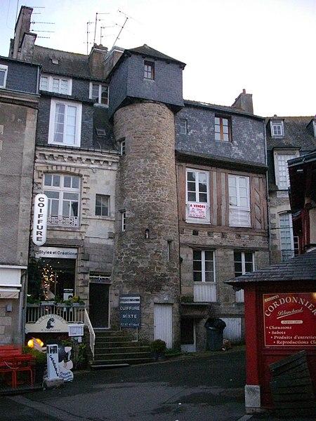 Photo du Monument Historique Château de l'Hermine situé à Vannes