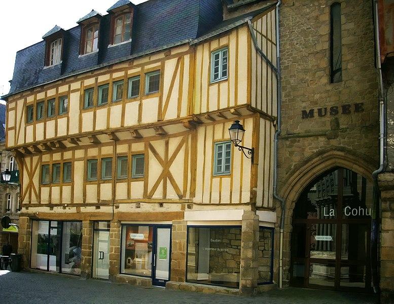 Photo du Monument Historique Ancienne cohue situé à Vannes