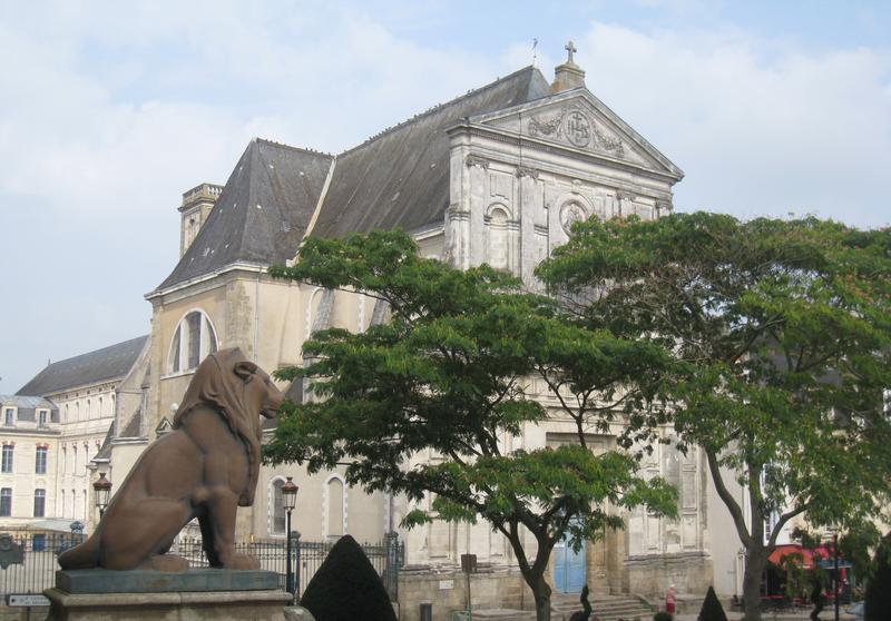 Photo du Monument Historique Collège Jules-Simon situé à Vannes
