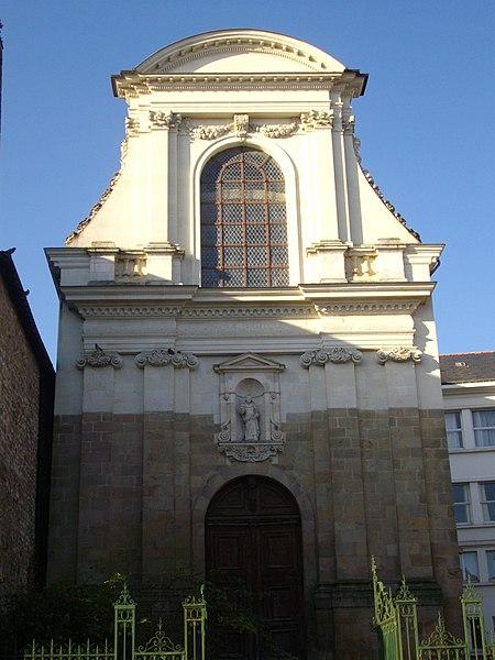 Photo du Monument Historique Ancien couvent des Ursulines situé à Vannes