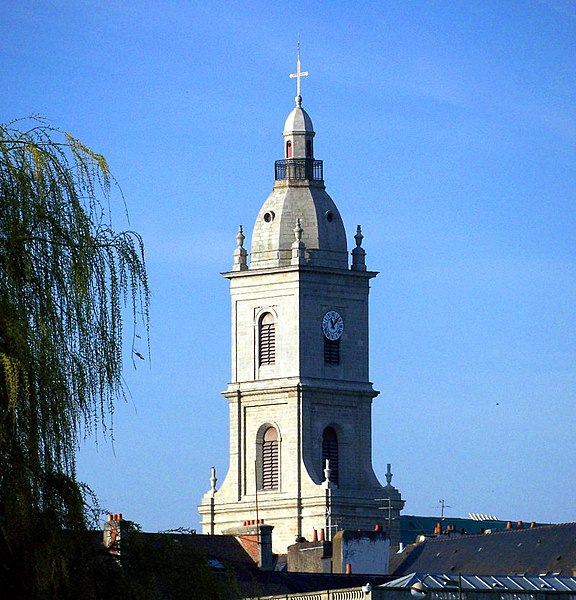 Photo du Monument Historique Eglise Saint-Patern situé à Vannes