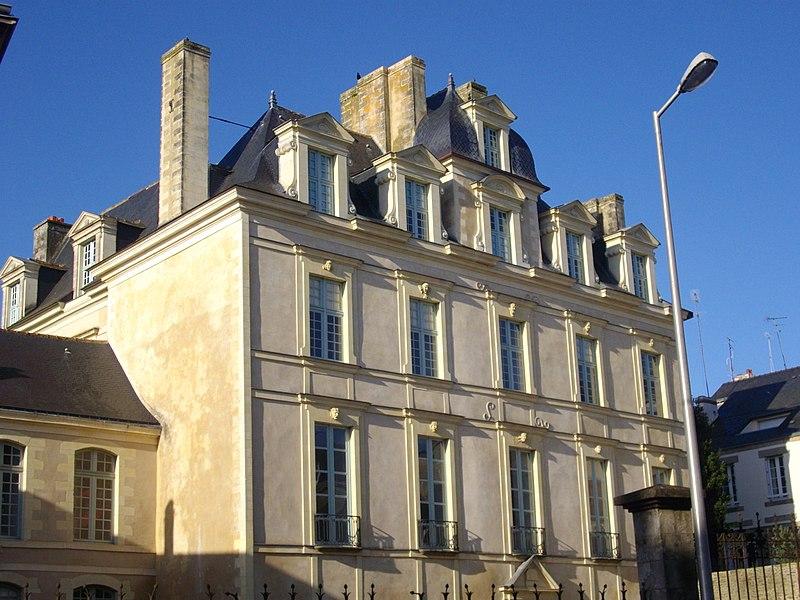 Photo du Monument Historique Hôtel de Limur situé à Vannes