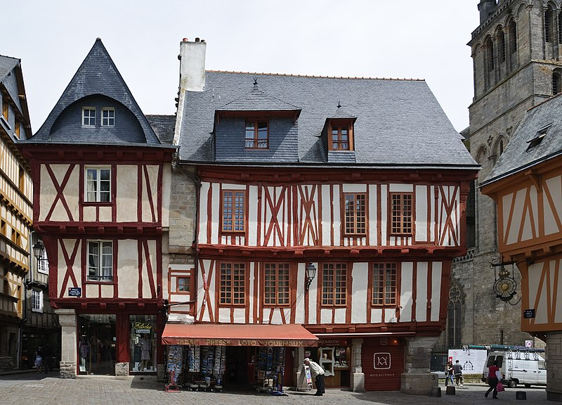 Photo du Monument Historique Maison situé à Vannes