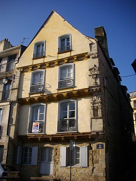 Photo du Monument Historique Maison dite de Saint-Yves situé à Vannes