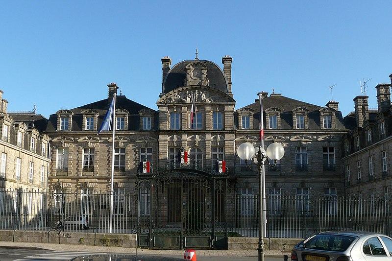 Photo du Monument Historique Préfecture situé à Vannes