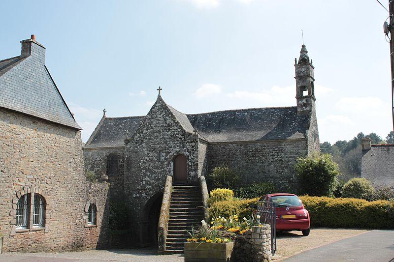Photo du Monument Historique Chapelle et cryptes situé à Vraie-Croix (La)