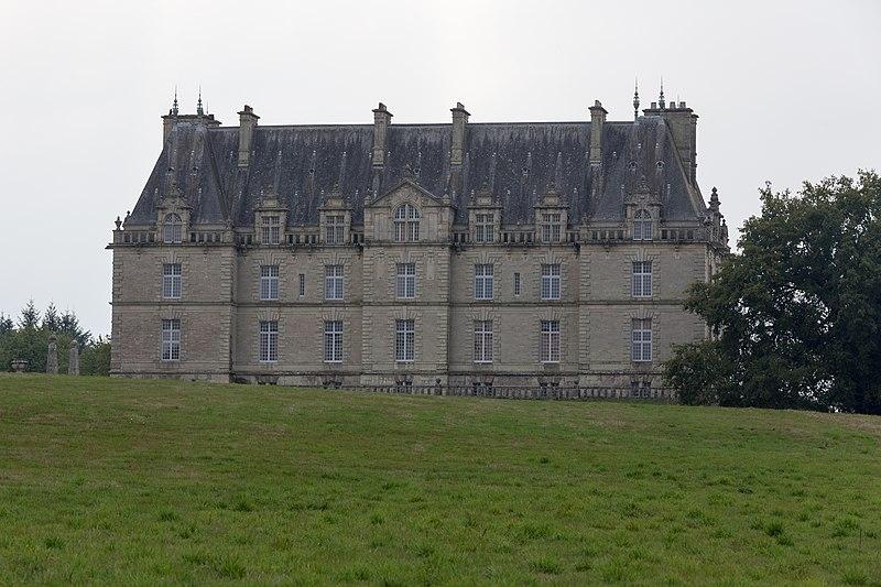 Photo du Monument Historique Château de la Grée de Callac (également sur commune d'Augan) situé à Monteneuf