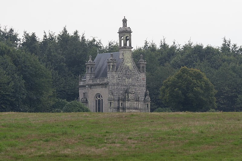 Photo du Monument Historique Château de la Grée de Callac situé à Augan