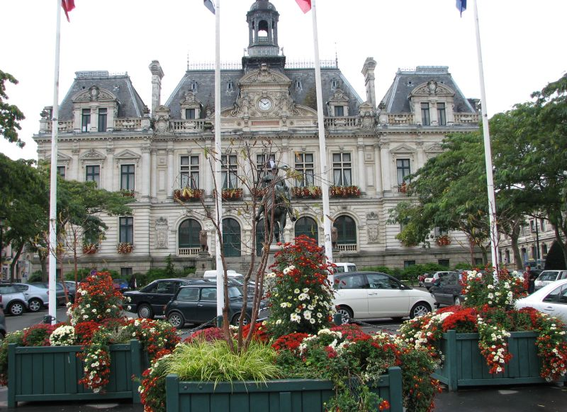 Photo du Monument Historique Hôtel de ville situé à Vannes