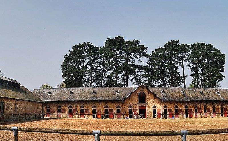 Photo du Monument Historique Haras national situé à Hennebont