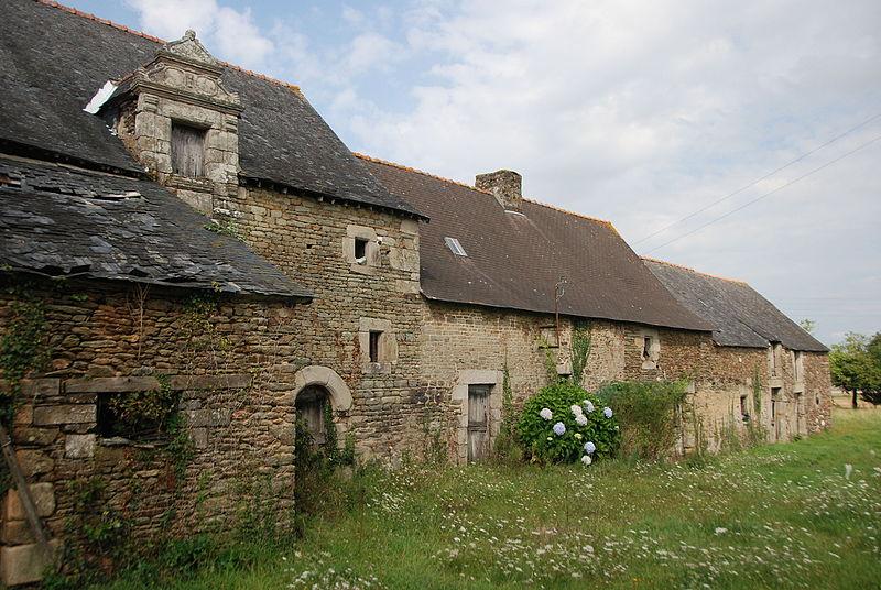 Photo du Monument Historique Maison située à Le Coudray situé à Lanouée