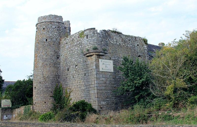 Photo du Monument Historique Manoir de Kercadio situé à Erdeven