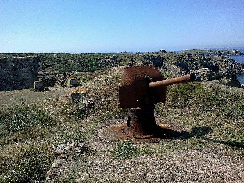 Photo du Monument Historique Réduit de Béniguet situé à Île-d'Houat