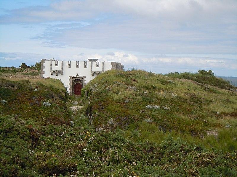 Photo du Monument Historique Réduit de Kerdonis situé à Locmaria