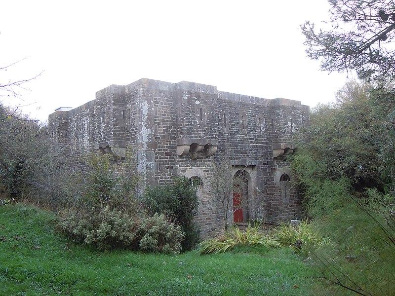Photo du Monument Historique Corps de garde de Fort Larron situé à Le Palais