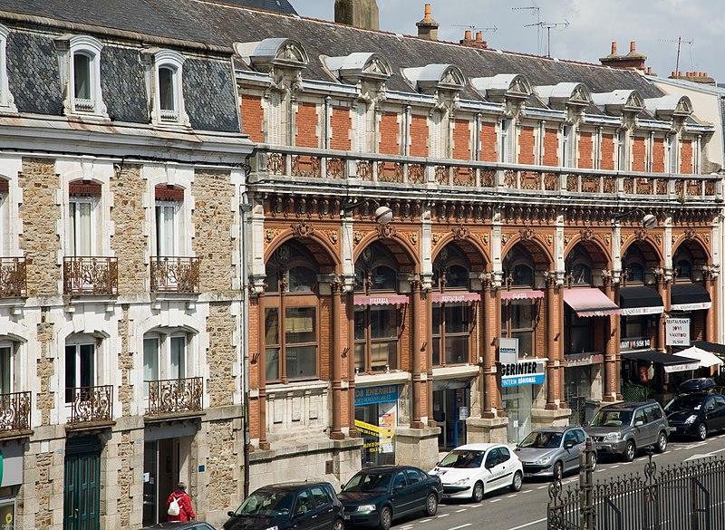 Photo du Monument Historique Immeuble des anciens Etablissements Petit-Fers situé à Vannes
