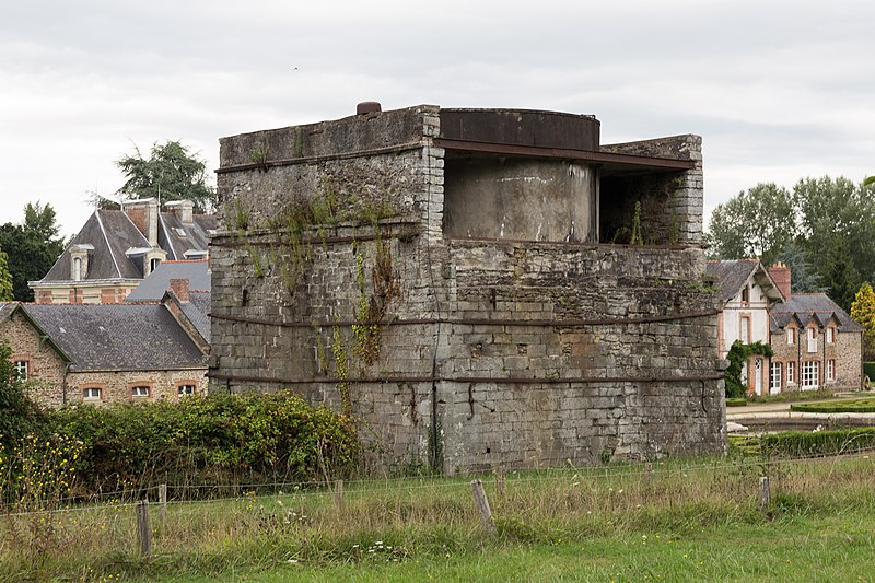 Photo du Monument Historique Forges de Lanouée situé à Les Forges