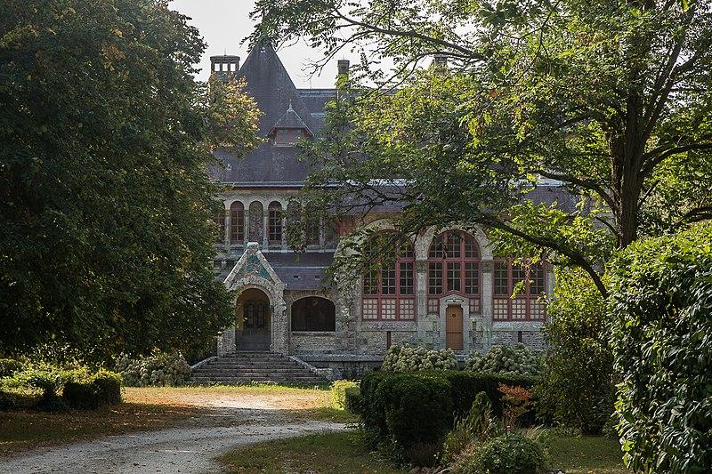 Photo du Monument Historique Villa Coëtihuel situé à Sarzeau