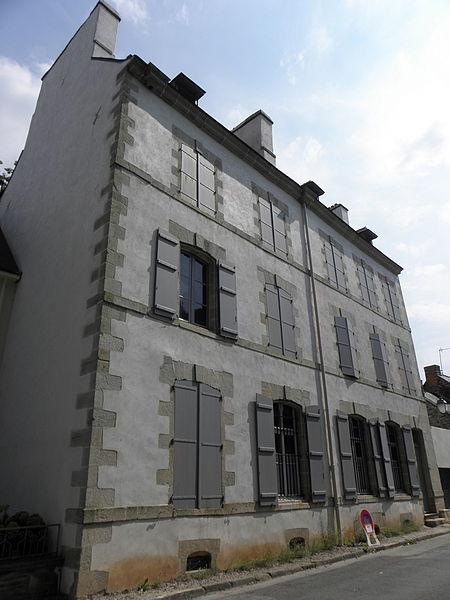 Photo du Monument Historique Maison dite Hôtel d'Aumont situé à Josselin