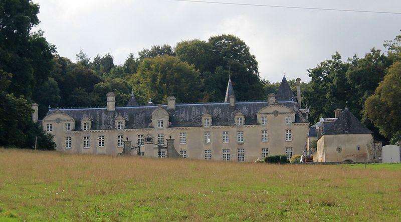 Photo du Monument Historique Château de la Ville Der situé à Roc-Saint-André (Le)