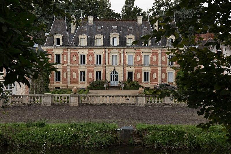 Photo du Monument Historique Château des Forges de Lanouée situé à Forges (Les)