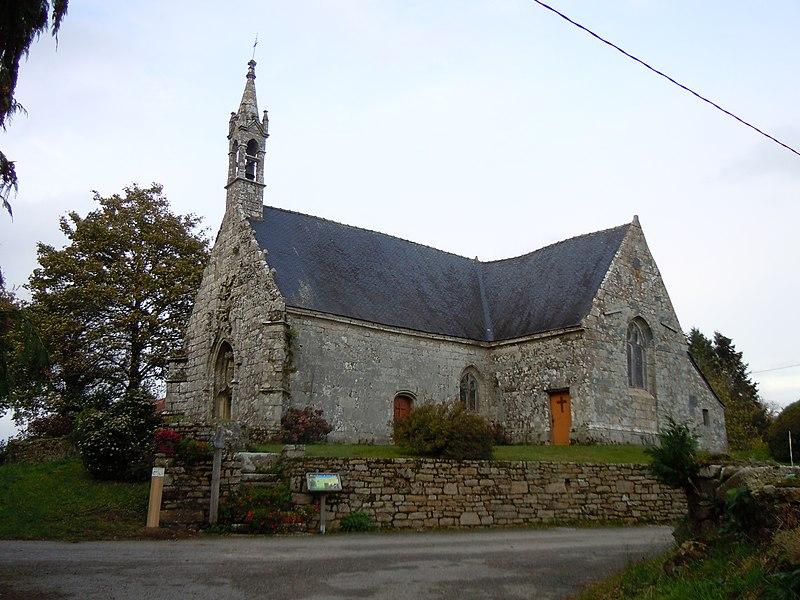 Photo du Monument Historique Chapelle Saint-Germain situé à Séglien