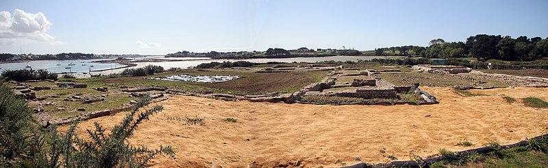 Photo du Monument Historique Villa gallo-romaine de Mané-Vechen situé à Plouhinec