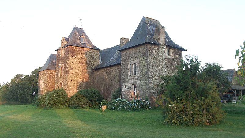 Photo du Monument Historique Manoir de Boyac situé à Ploërmel