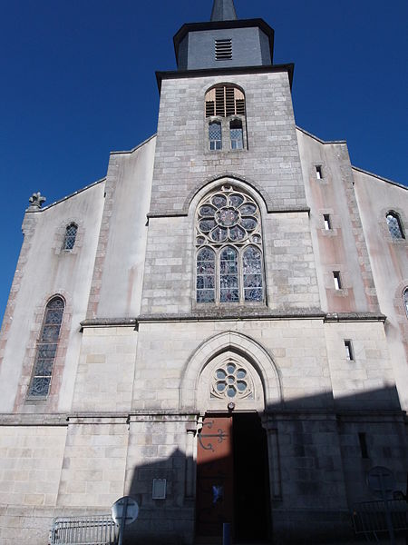 Photo du Monument Historique Église Saint-Géran situé à Palais (Le)