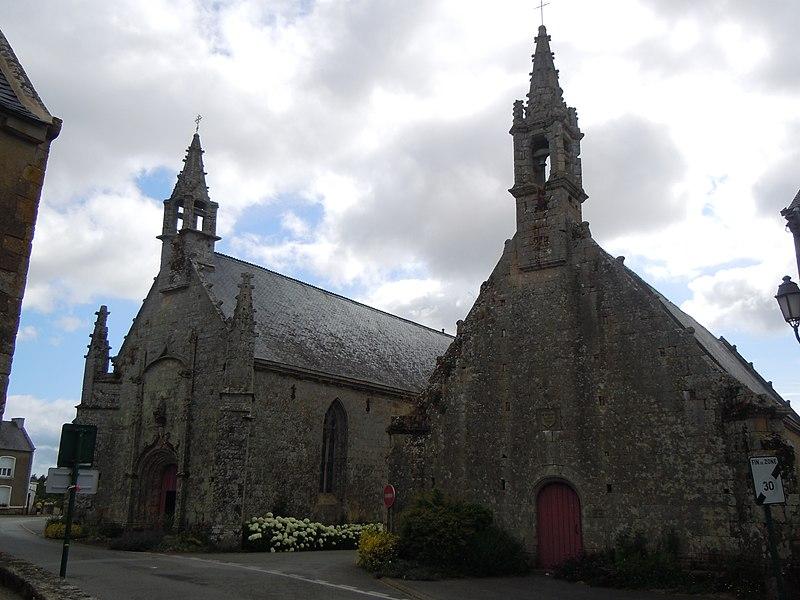 Photo du Monument Historique Chapelle Saint-Servais situé à Plumergat