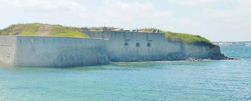 Photo du Monument Historique fort de Porh-Puns situé à Gâvres