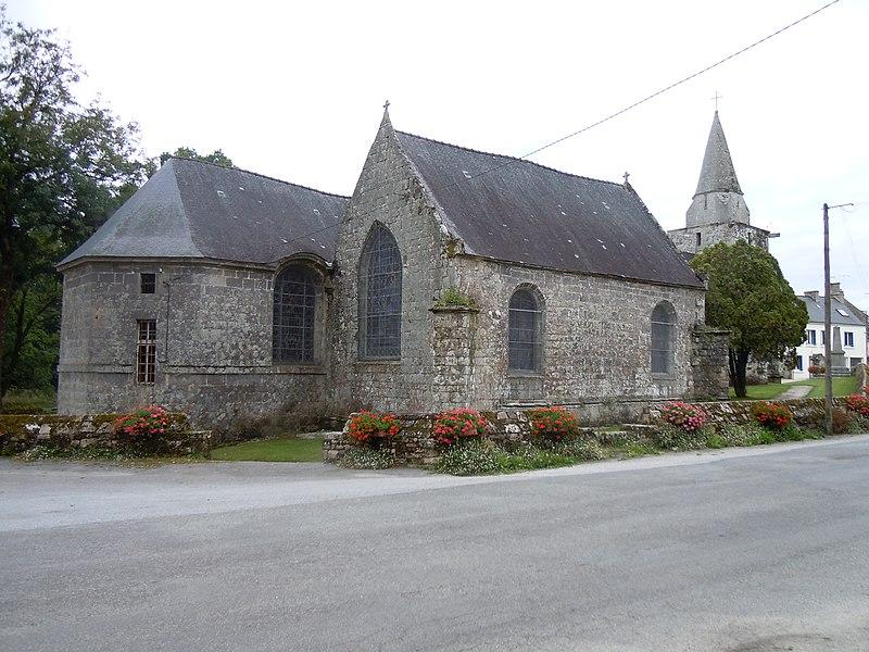 Photo du Monument Historique Eglise Saint-Malo situé à Locmalo