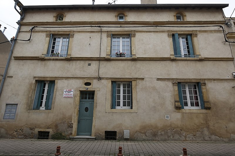Photo du Monument Historique Maison situé à Ars-sur-Moselle