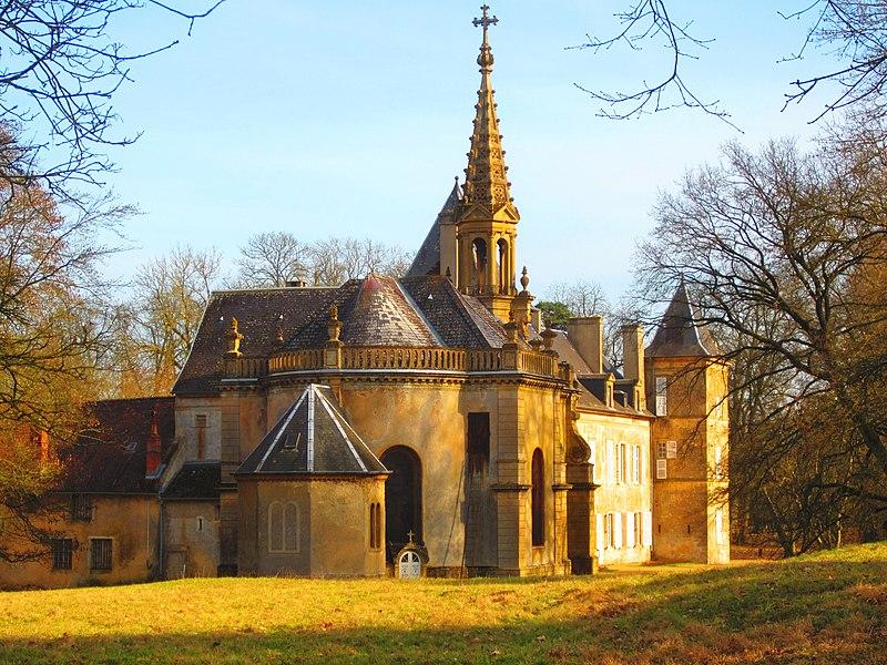 Photo du Monument Historique Domaine de Preisch situé à Basse-Rentgen