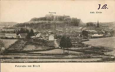 Photo du Monument Historique Citadelle situé à Bitche
