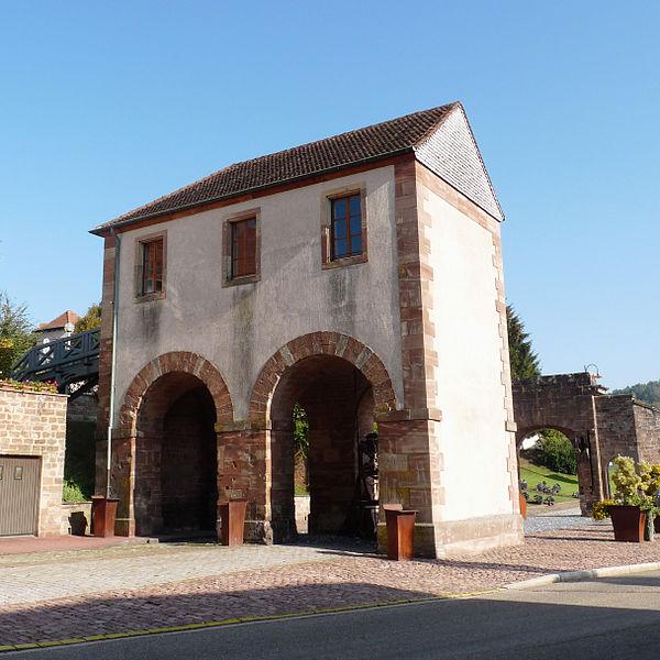 Photo du Monument Historique Porte de Strasbourg situé à Bitche