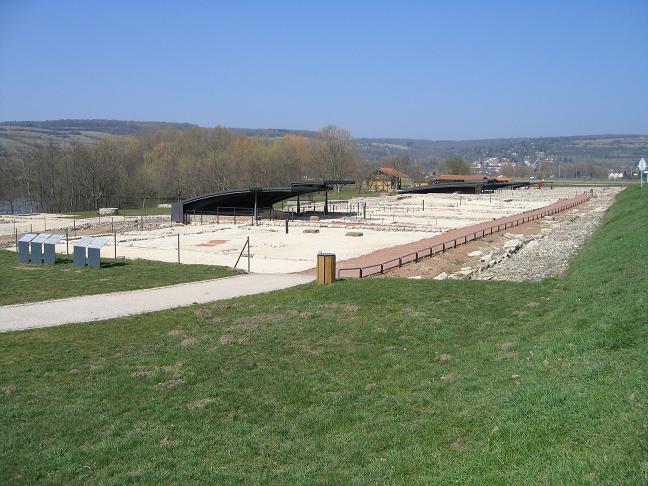 Photo du Monument Historique Site archéologique de Bliesbruck situé à Bliesbruck