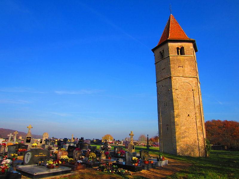 Photo du Monument Historique Eglise d'Ussel situé à Boust