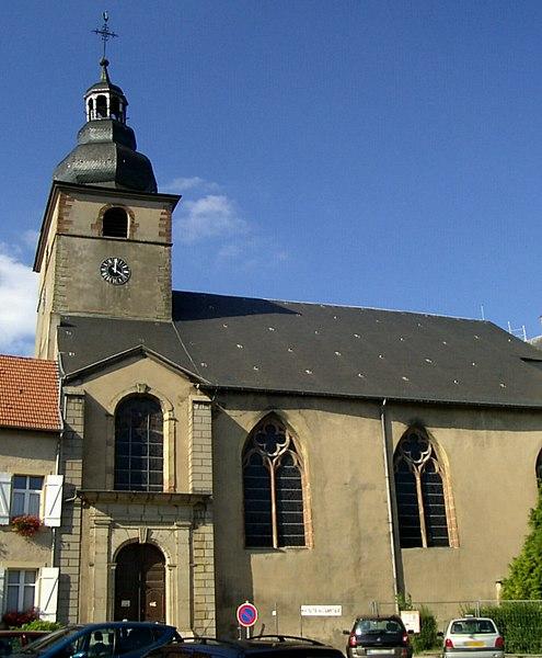 Photo du Monument Historique Ancienne abbaye Sainte-Croix situé à Bouzonville