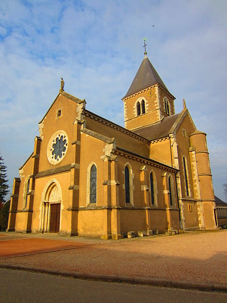 Photo du Monument Historique Eglise Saint-Maurice situé à Cheminot