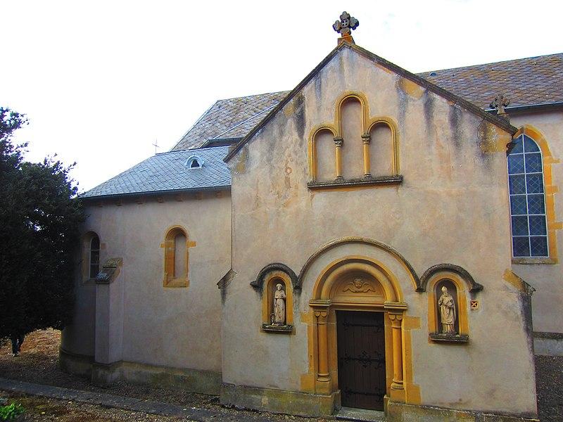 Photo du Monument Historique Chapelle seigneuriale situé à Chérisey