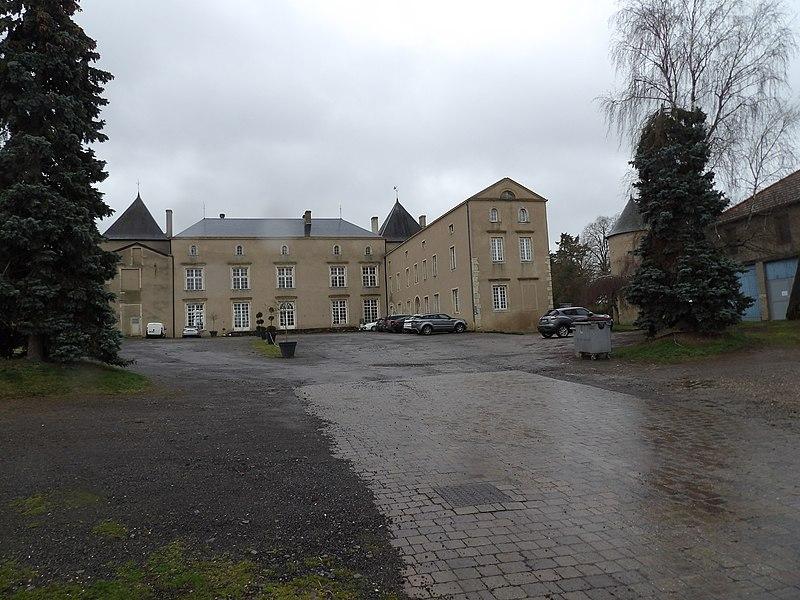 Photo du Monument Historique Château situé à Chérisey