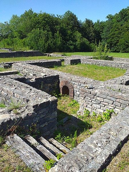 Photo du Monument Historique Villa gallo-romaine de Saint-Ulrich situé à Dolving
