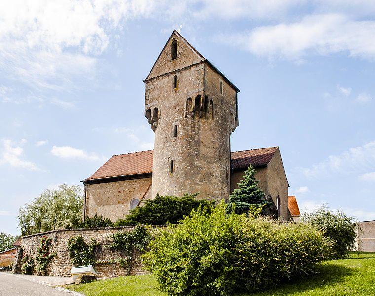 Photo du Monument Historique Eglise de Heckenransbach situé à Ernestviller